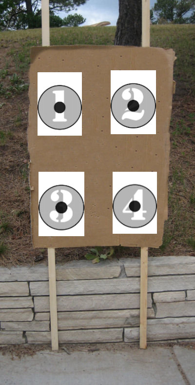 Shoot the Called Number Printable Targets